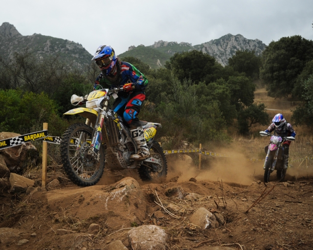 "US Wellard club team rider Ryan Sipes at the ""Bardahl"" special test on Day-five."